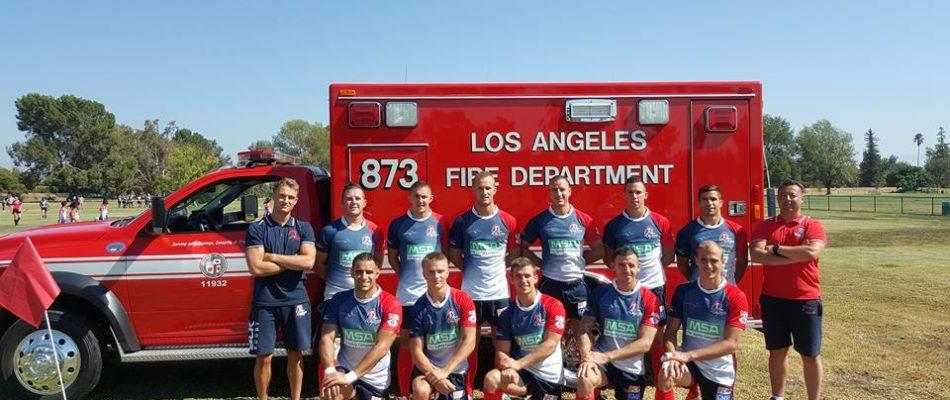 Les pompiers de Paris vice-champions du Monde de Rugby