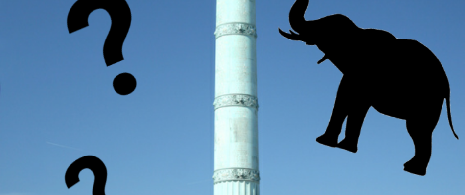 Histoire de Paris : l'éléphant de la Bastille