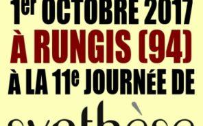 Dimanche 1er octobre: Journée de Synthèse nationale