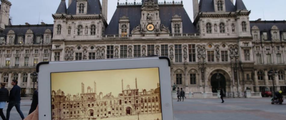 Gallica: visites guidées du Paris d'hier et d'aujourd'hui