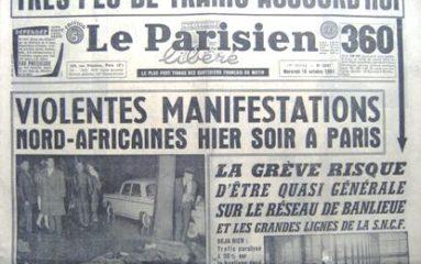 17 octobre 1961: la Mairie inaugure une stèle