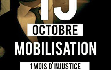 Aulnay sous Bois : la mobilisation pour Yacine continue.