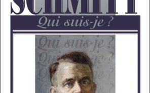 Livre: sortie de «Carl Schmitt» dans la collection «Qui suis-je?»