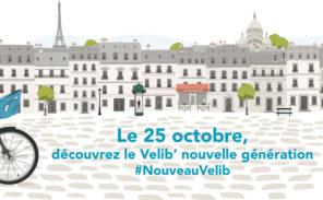 Les nouveaux Velib' en test au Bassin de la Villette !