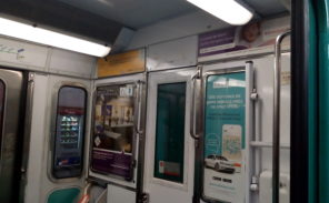 Pourquoi convient-il d'interdire les publicités dans le métro parisien?