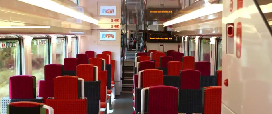 REGIO 2N : nouveau train en Ile de France