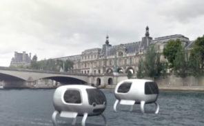 Pas de taxis flottants sur la Seine cette année