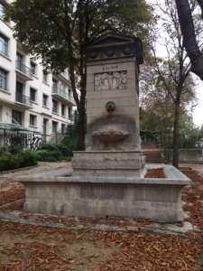 fontaine du marché Saint Germain