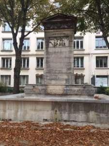 La fontaine du marché Saint Germain