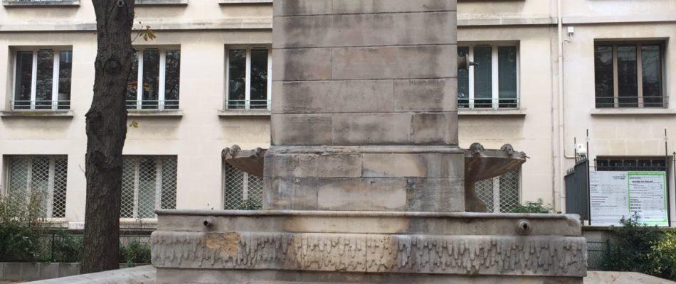 La fontaine du marché Saint Germain bientôt rénovée