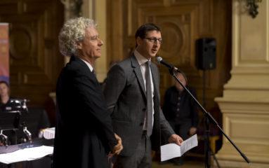 M. Ariel Weil, nouveau maire (PS) du 4e arrondissement
