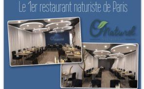 Ouverture du premier restaurant naturiste parisien