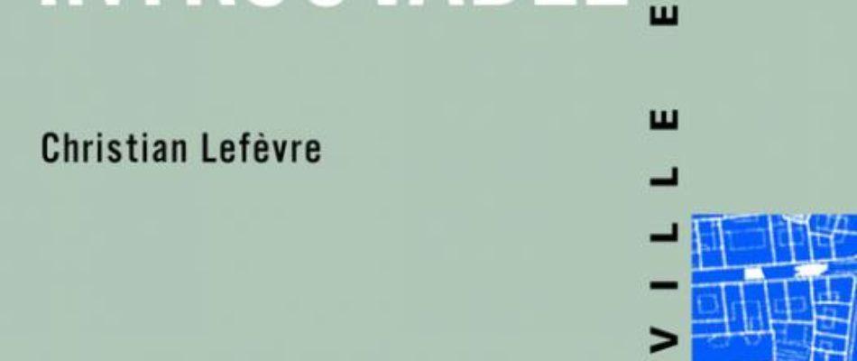 Livre: «Paris, métropole introuvable»