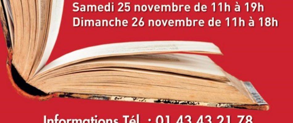 Exposition de Livres Anciens et modernes au Salon Olympe de Gouges