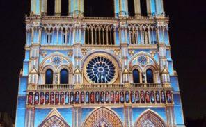 » Dame de Coeur »: le spectacle à couper le souffle devant Notre-Dame de Paris