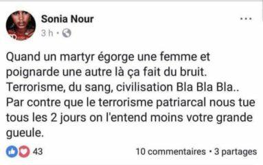Sonia Nour, qui comparait l'égorgeur de Marseille à un «martyr», va être réintégrée