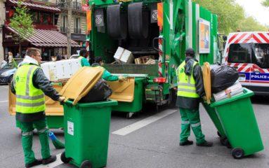 Grève des éboueurs à Paris