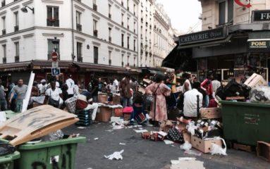 Château-Rouge: des pots de fleurs pour lutter contre les vendeurs à la sauvette?