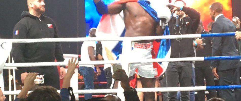 Boxe: Quarteron gagne son dernier combat!