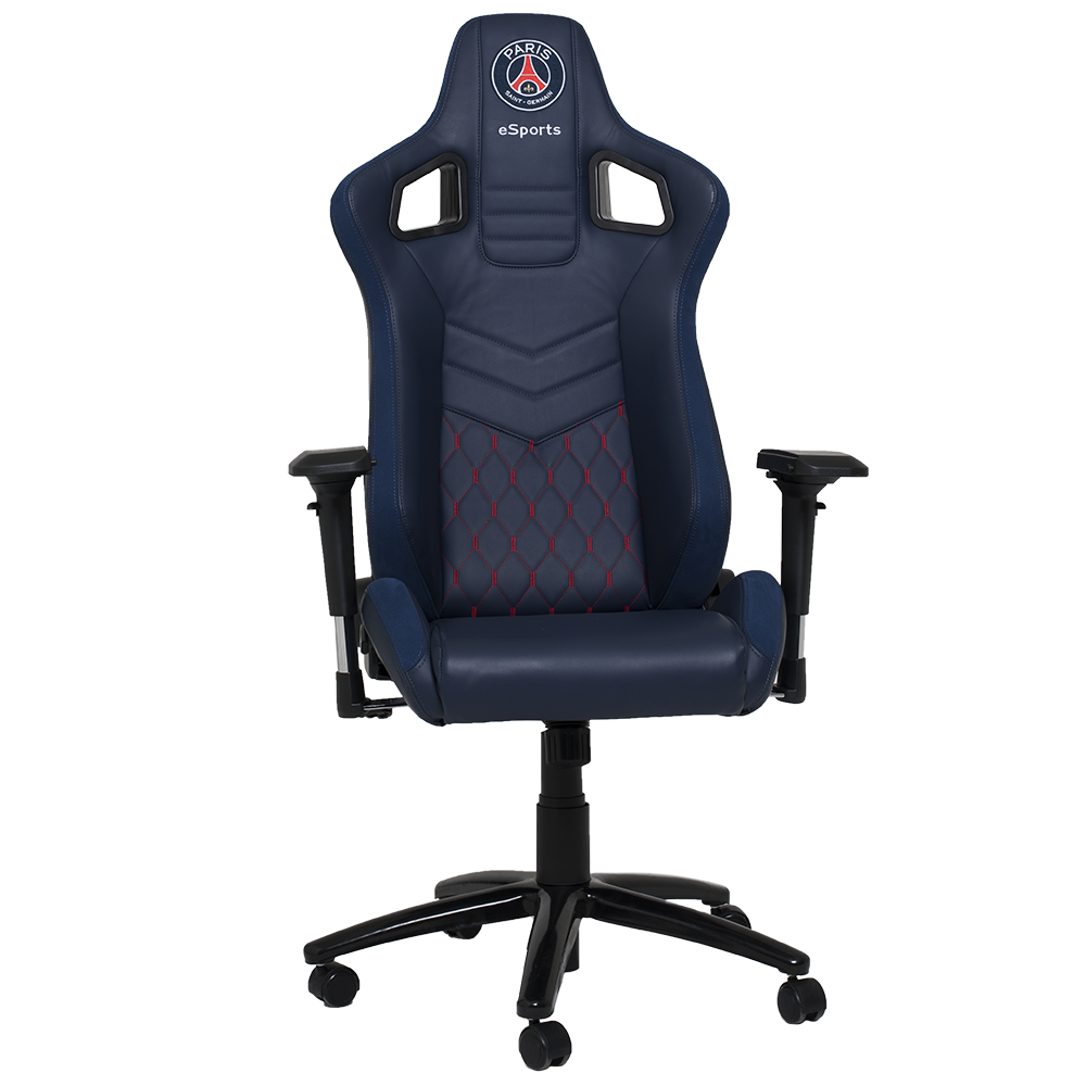 un fauteuil de gamer psg parisvox. Black Bedroom Furniture Sets. Home Design Ideas