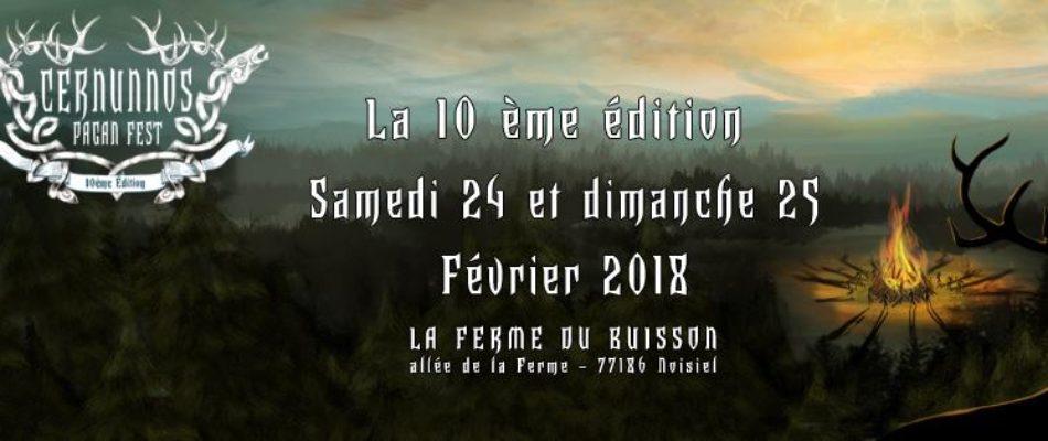 Festival de musique Métal et Folk à Noisiel ce week-end.