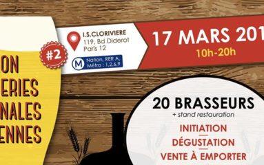 2ème édition du Salon des Brasseries Artisanales Parisiennes