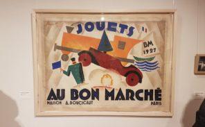 Loupot, peintre en affiches à la biblothèque Forney