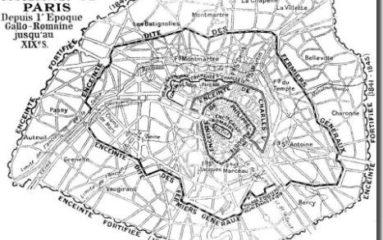 Histoire de Paris: Les enceintes de Paris (1/5)