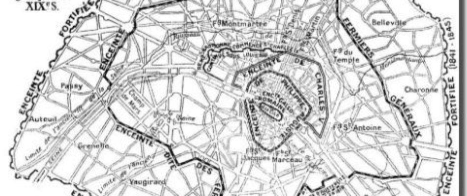 Histoire de Paris: Les enceintes de Paris (2/5)