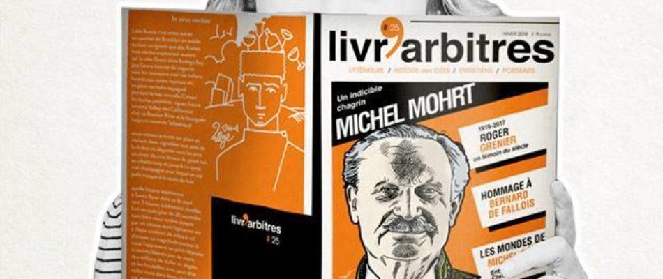 Vendredi 23 mars: soirée «Livr'arbitres»
