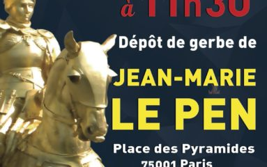 1er Mai: l'hommage de Le Pen à Jeanne d'Arc