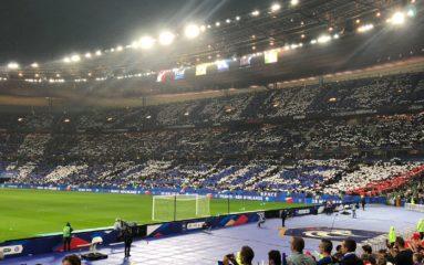 La France gagne sous l'orage