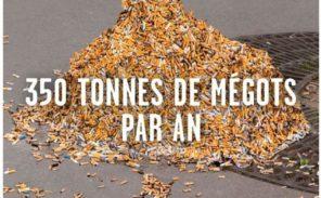 Les mégots: un fléau dans Paris