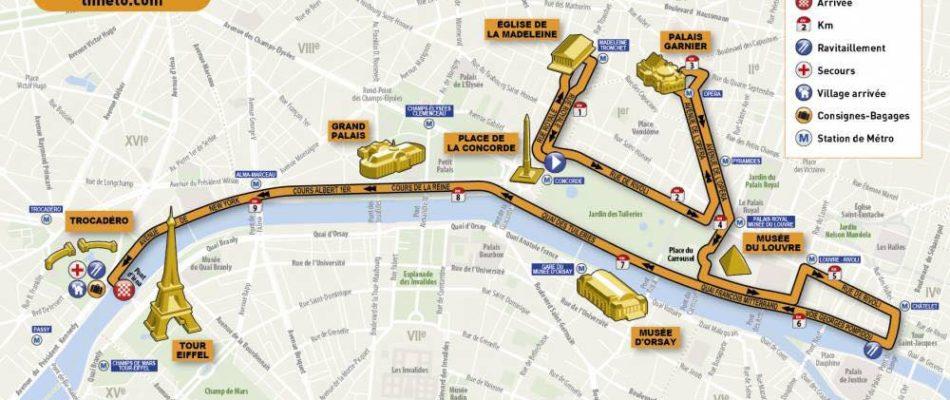 Plongée dans l'Adidas 10 Km de Paris