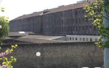 Eric Dupond-Moretti en visite à la prison de Fresnes