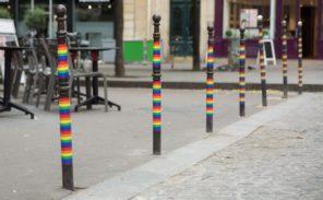 Paris aux couleurs de l'arc en ciel
