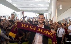 Javier Pastore file à la Roma