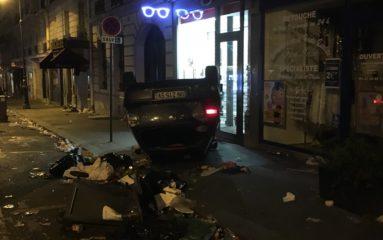 Paris: la fête tourne à l'émeute