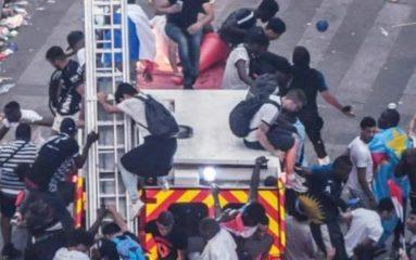 Nuit d'émeutes dans certaines cités françaises