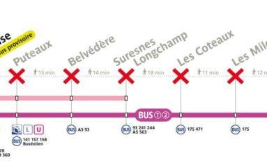 Ligne T2: fermeture partielle du 2 au 20 juillet 2018