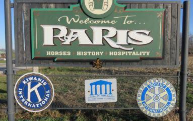 Paris d'ici et d'ailleurs: direction Paris au Kentucky!