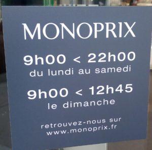 monoprix 21h00