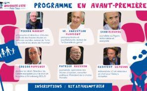 Université d'été 2018 de La Manif Pour Tous ce week-end