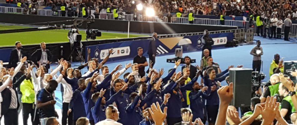 France – Pays-Bas, la victoire et la fête!