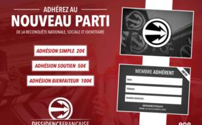 La Dissidence Française devient un parti politique