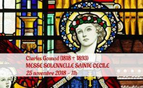 Musique: la «Messe solennelle de Sainte Cécile» le 25 novembre