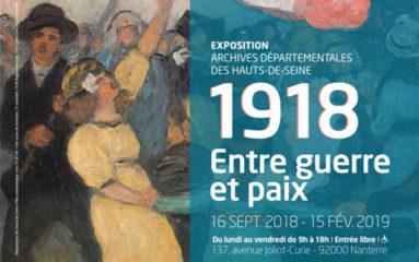 Perpétuer le souvenir 14-18 dans les Hauts de Seine