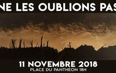 11 novembre: Ne les oublions pas !