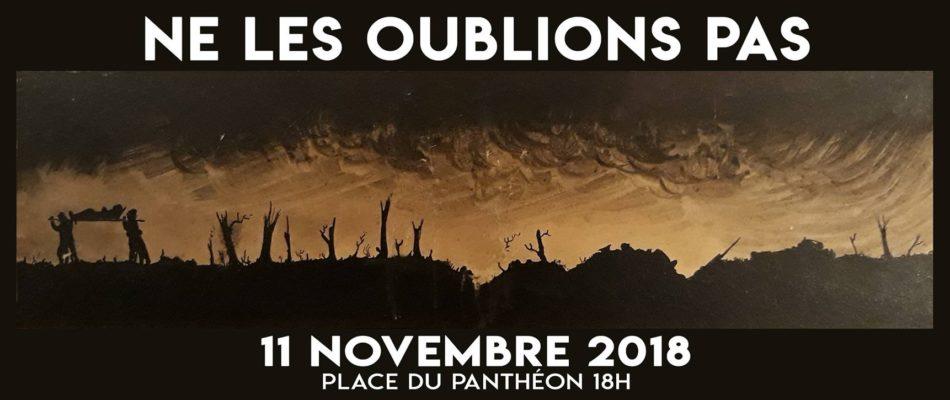 11 novembre: Ne les oublions pas!