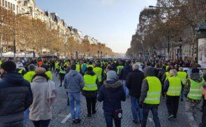 Gilets jaunes à Paris: action passées et à venir